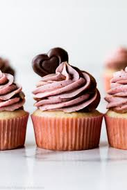 Cupids Cupcakes Strawberry Nutella Sallys Baking Addiction