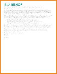 9 Social Work Cover Letter Sample Offecial Letter