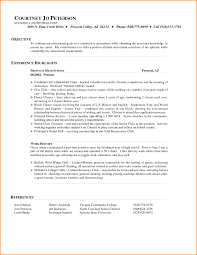 Hostess Resume Example Hostess Resume Template Sample John Doe Writing Shalomhouseus 16