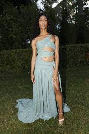 Mj Rodriguez Wears Sexy Etro Gown to ...