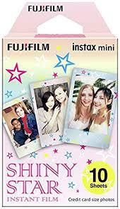 Fuji Instax Shiny Star Instant Mini Film - 10 Prints ... - Amazon.com