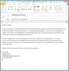 Emailing A Cover Letter And Resume Sending Resume By Email Cover