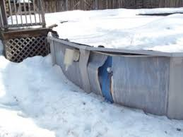 above ground pool winter covers. Look Out For Winter Pool Damage After The Infamous #winter2015 Above Ground Covers O