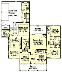2800 square foot house plans two story fresh southern style house plans 2800 square foot home
