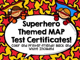 superhero nwea map certificates and goal setting sheets tpt Superhero Map superhero nwea map certificates and goal setting sheets super hero map minecraft