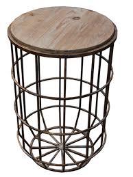 sagebrookhome koji metal round table