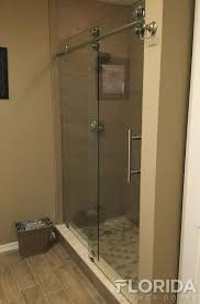 rolling enclosure with chrome hardware finish and ladder pull handle