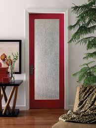 frosted glass interior door photo 13