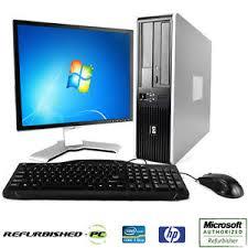 Clearance Fast Hp Compaq Desktop Windows 7 Or Xp Computer Pc Core 2