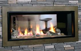 2 way electric fireplace dimplex sided
