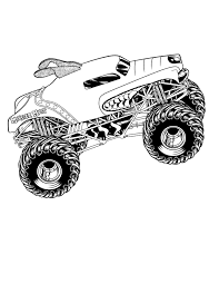 Pin By Tammy Helton On Party Monster Truck Coloring Pages Monster