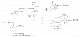 simple pbx circuit diagram simple image wiring diagram my homemade pbx on simple pbx circuit diagram