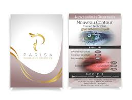 Permanent Design Bold Playful Beauty Salon Flyer Design For A Company By