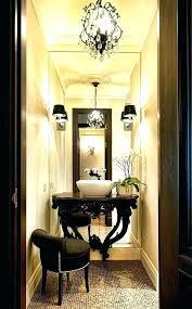 powder room chandelier pendant lighting going wild color ideas mirrors powder room light fixtures lighting