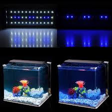 36 Aquarium Light Us 17 98 40 Off 30 45cm Aquarium Smd Led Lighting Fish Tank Light Lamp 36 White 18 Blue Leds Lamps With Extendable Brackets And Eu Us Au Plug In