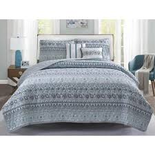blue quilts bedding sets the home