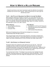 Accounts Payable Sample Resume Mesmerizing Accounts Payable Specialist Resume Objective Accounting Sample