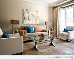 15 Relaxing Brown and Tan Living Room Designs | Home Design Lover -  Possible dining room