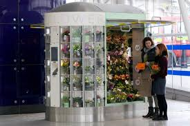Floral Vending Machine Stunning Our Unique Selfdesigned Flower Vending Machine Is Open 4848 At The