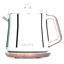 electric tea kettle target glass gourmiar with infuser