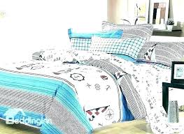 nautical daybed comforter sets boys bedding set themed and curtains seaside bed linen best quilts hom