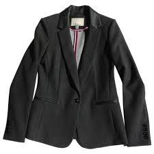 Grey Polyester Jacket Banana Republic Grey Size S