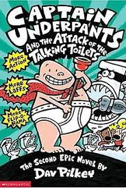 captain underpants talking toilets jpg third edition cover