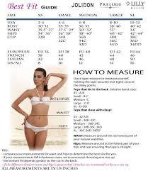 Swimsuit Top Size Chart Jolidon Punta Cana Triangle Swim Top Brand Jolidon