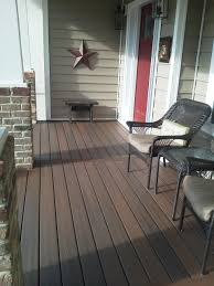 trex wood front porch floor covering ideas like our composite chemicals damage veranda td