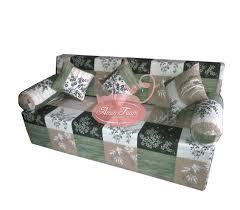 Sofa Bed Inoac Minimalis uk 200x180x20 Busa Asli Dengan Motif Berkarakter