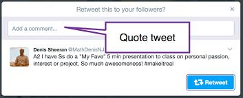 Quote Tweet Cool Quote Tweet Mention The Tweeter Teacher Tech