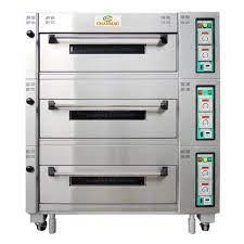 Lò nướng 3 tầng 6 khay CM-ECD306A – BakerLand - Nguyên liệu, dụng cụ, khóa  học làm bánh