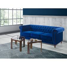 dupen chesterfield 3s sofa velvet