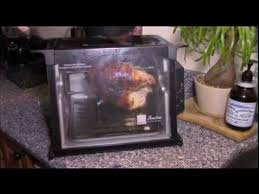 Ronco Rotisserie Cooking Time Chart How To Cook Or Roast A Turkey Breast In Ronco Showtime Rotisserie Oven Demonstration