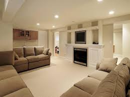 Design For Basement Decorating Ideas Inspiration And Stone Wall In - Finished small basement ideas