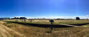 golf tournament british open practice