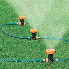 portable sprinkler system found this