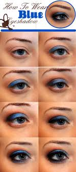 fashion natural makeup look blue eyes latest how to wear blue eyeshadow makeup magic beauty