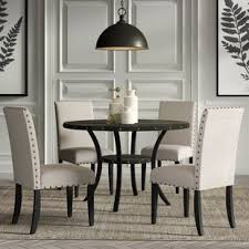 Round dining table set Piece Quickview Costco Wholesale 48 Inch Round Dining Table Set Wayfair