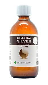 Premium <b>Quality</b> Colloidal <b>Silver</b> 10 ppm Bottle 300ml: Amazon.co ...