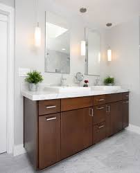 bathroom vanity pendant lighting. bathroomsminimalist vanity bathroom with small mirror and stylish pendant lamps floating lighting d