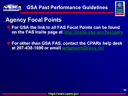 52 gsa past performance guidelines