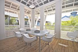 metal ceiling design patio contemporary with starr sanford design rosemary beach wood deck