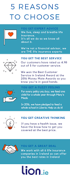 Life Insurance Quotes Ireland Why us Lionie 34