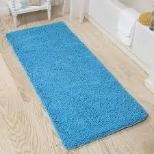Plush Bathroom Rugs Bathroom Lavish Home Memory Foam Shag Bath Mat 2 Feet By 5 Feet