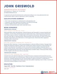 Executive Assistant Resume Resume Examples 100 Administrative Assistant Asptur Executive 18