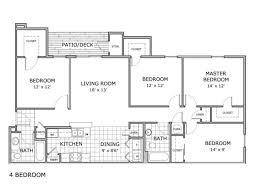For The 4 Bedroom   Ph 2 Floor Plan.
