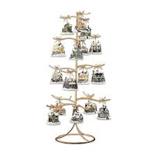 Christmas Ornament Display Stands Mesmerizing Amazon Gold Wire Ornament Tree Display By The Bradford Exchange