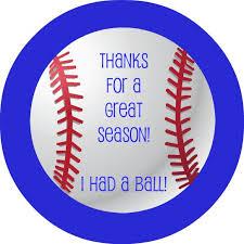 Thank You Card For Baseball Coach Templates