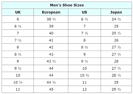United Kingdom Shoe Size Chart Mexican Shoe Sizes Conversion Kids Size To Us Inspiration